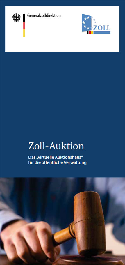 Cover der Publikation Zoll-Auktion