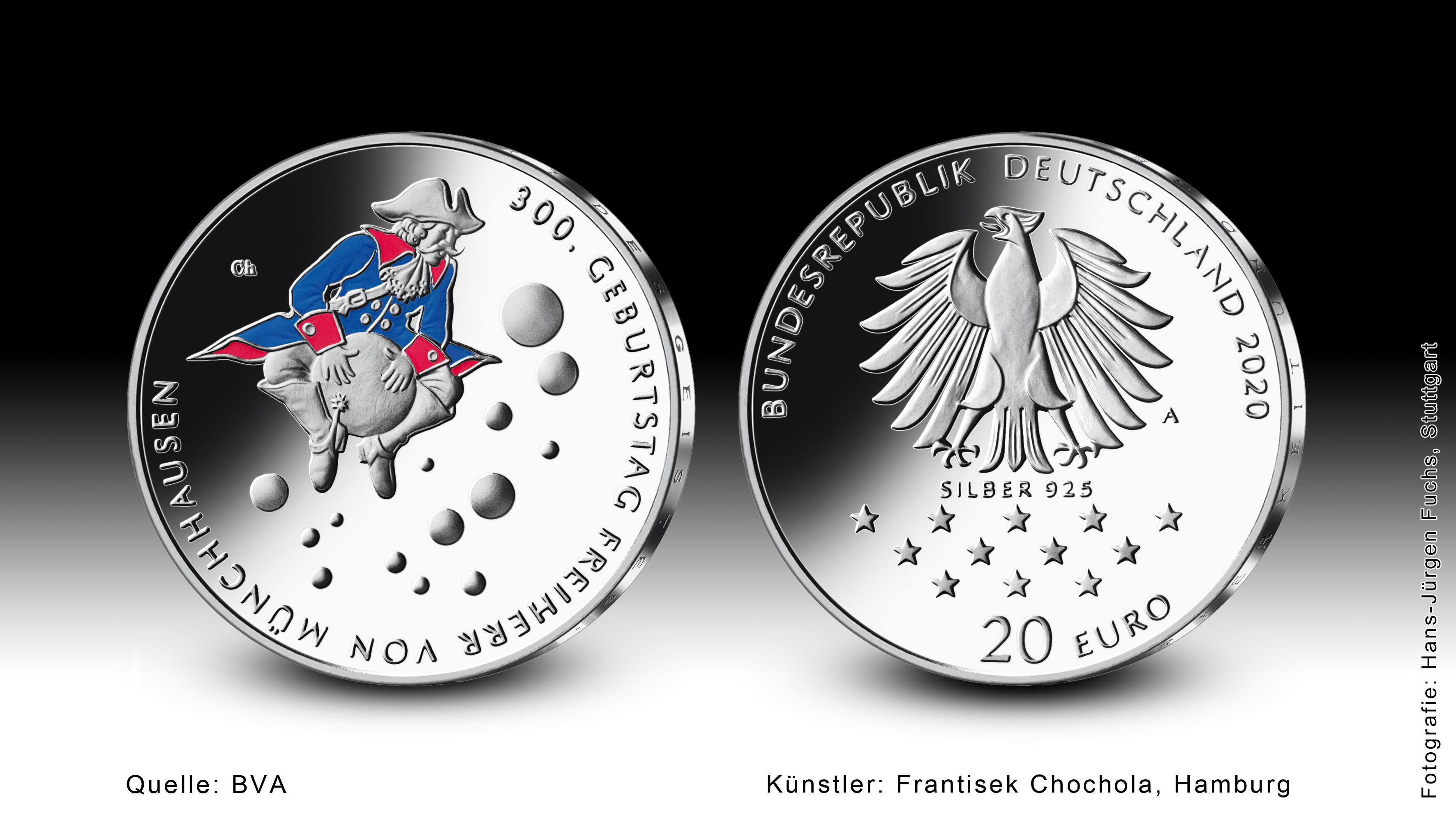 Bundesfinanzministerium   Ausgabetermin der 20 Euro Sammlermünze ...