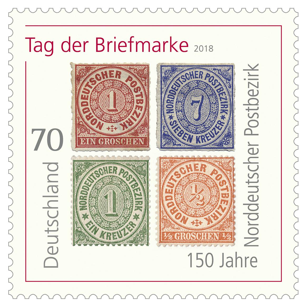 Bundesfinanzministerium Serie Tag Der Briefmarke 150 Jahre