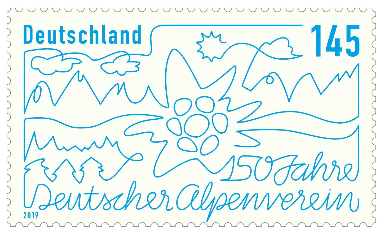 Deutschland 2019 150 Jahre Deutscher Alpenverein Allemagne