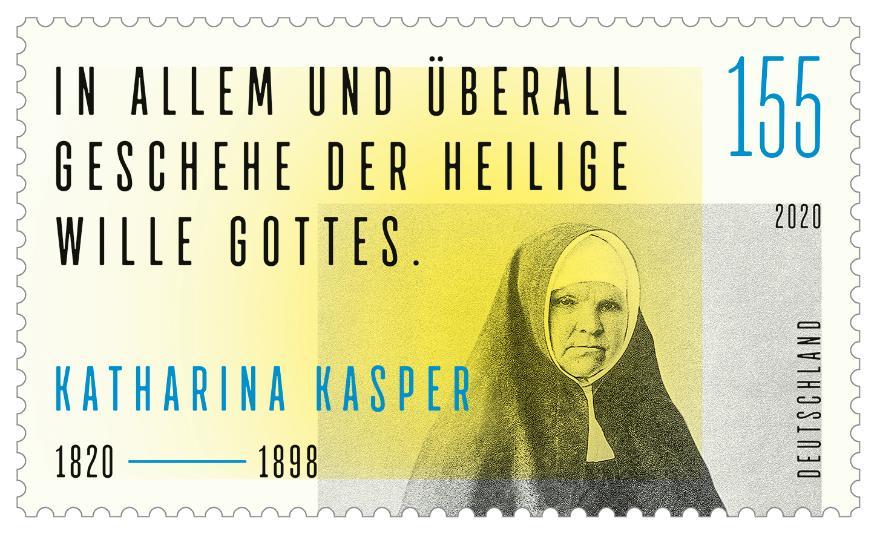 Sondermarke der Deutschen Post (Foto: www.bundesfinanzministerium.de)