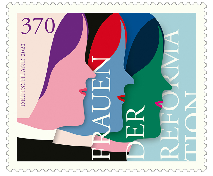 Briefmarke Frauen der Reformation