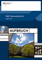 Opens page: BMF-Monatsbericht August 2020