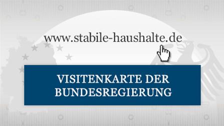 Bundesfinanzministerium - Fiskalregeln