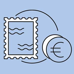 Bundesfinanzministerium Briefmarken